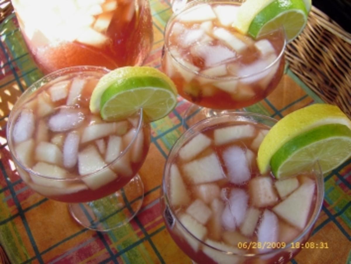 Bowle Red Orange - Rezept Eingereicht von Ellinor79