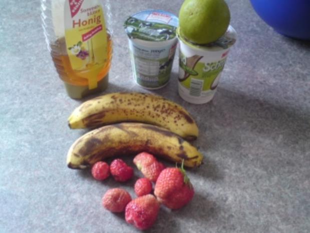Erdbeer-Bananen Eis - Rezept - Bild Nr. 3