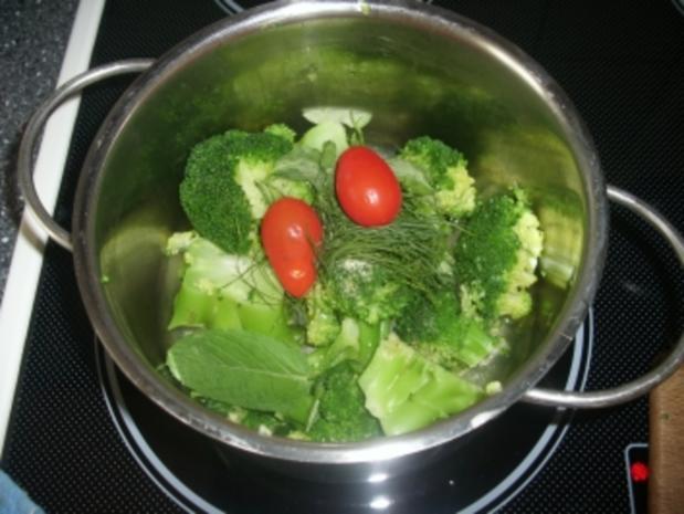 Scharfe Broccoli-Cremesuppe - Rezept - Bild Nr. 3
