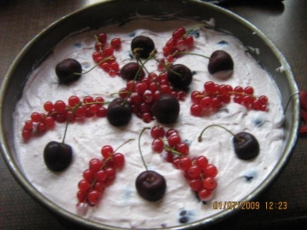 Johannisbeer-Kirsch-Torte - Rezept - Bild Nr. 12