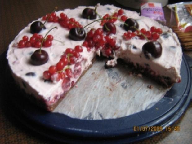 Johannisbeer-Kirsch-Torte - Rezept - Bild Nr. 13