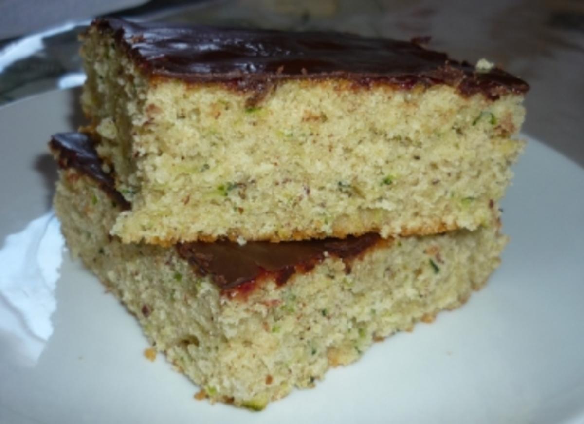 Zucchini-Schoko-Kuchen (auch für Diabetiker) Rezept   Küchengötter