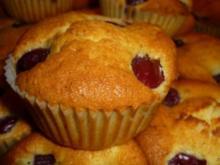 Kirsch - Joghurt - Muffins - Rezept