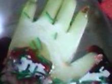 Abgerissene Hand - Rezept