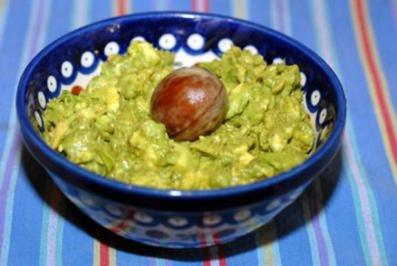 Avocadocreme mit geröstetem Ciabatta - Rezept