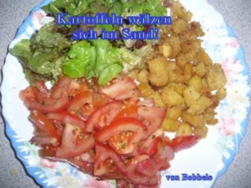 Beilage: Kartoffeln wälzen sich im Sand! - Rezept