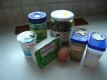 Topfen-Eiaufstrich - Rezept