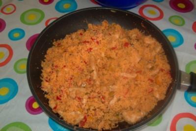 Couscous-Pfanne mit Hähnchenbrust - Rezept
