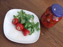 Gefüllte Kirsch-peperoncini - Rezept