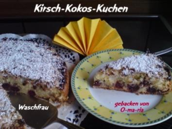 Kirsch-Kokos-Kuchen - Rezept