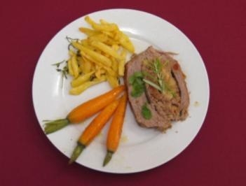 Gefüllter Kalbsbraten mit Toskana-Kartoffeln - Rezept