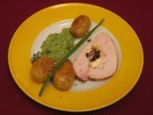 Puten-Legato mit Kadenz aus Sesamkartoffeln nebst Sauce verde Divertimento - Rezept