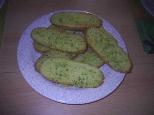 Brot - Kräuterbaguette - Rezept