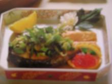 Gebratener Lachs mit Frühlingszwiebeln - Rezept