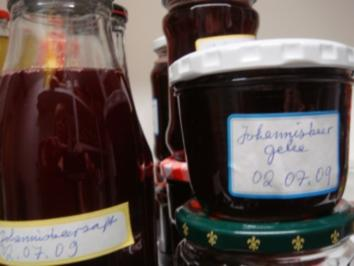 Rezept: Marmelade: Johannisbeergelee