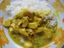 Puten-Kokos -Curry - Rezept