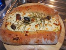 Feta-Oliven-Brot - Rezept