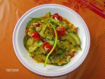 Blitzrezept: Zucchini-Tomaten-Pfanne - Rezept
