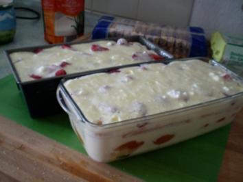 Erdbeer-Aprikosen-Tiramisu - Rezept