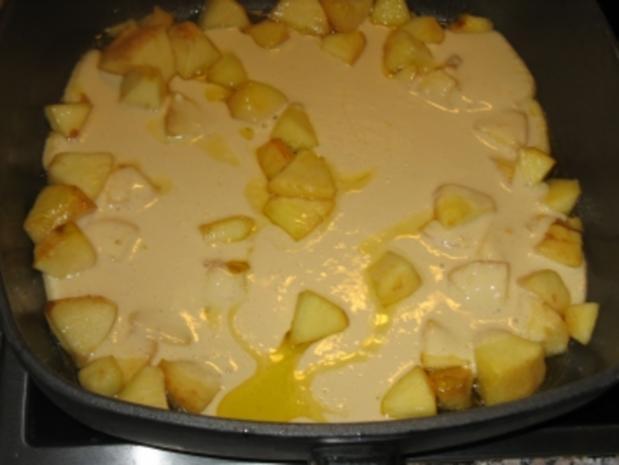 apfelschmarrn mit vanillesauce - Rezept - Bild Nr. 5