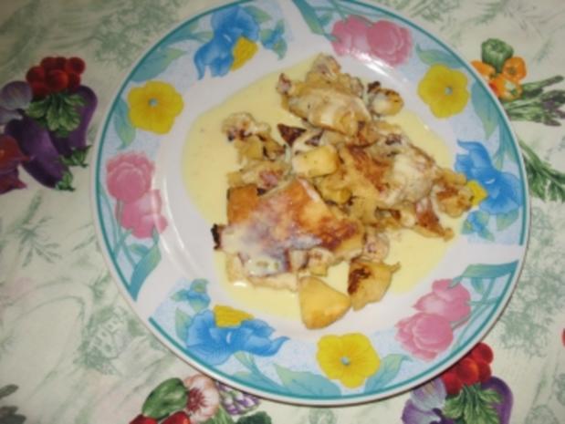 apfelschmarrn mit vanillesauce - Rezept - Bild Nr. 8
