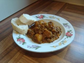 Hauptgericht - Kalb - Nordafrikanischer Kalbsschmortopf - Rezept