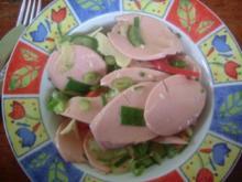 Wurstsalat alla kidromeo - Rezept