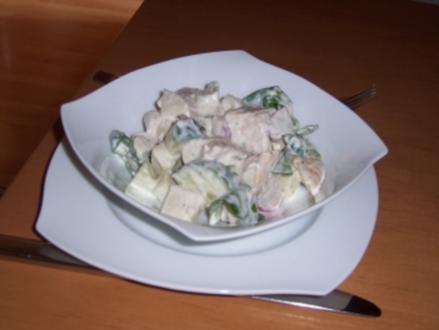 Frischer Hähnchensalat - Rezept