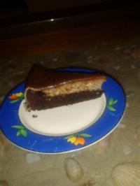Schoko-Nuss-Marzipankuchen - Rezept