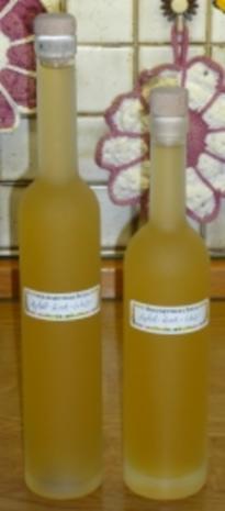 Apfel - Zimt - Likör - Rezept
