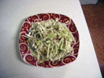 Krautsalat mit Speck - Rezept