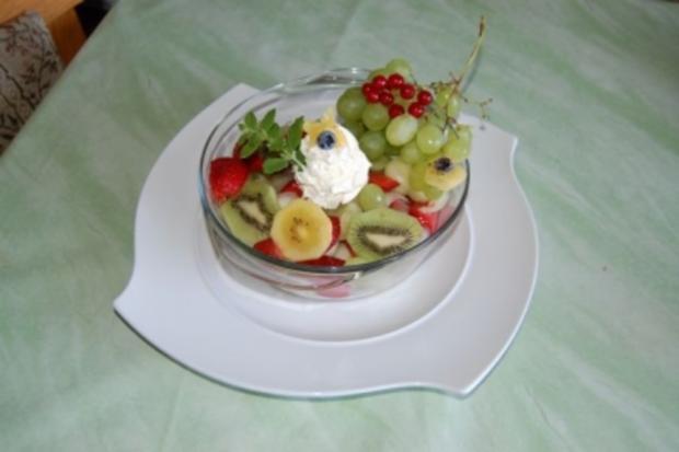 gefüllte Melone - Rezept