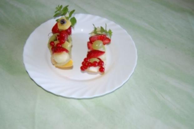 gefüllte Melone - Rezept - Bild Nr. 2