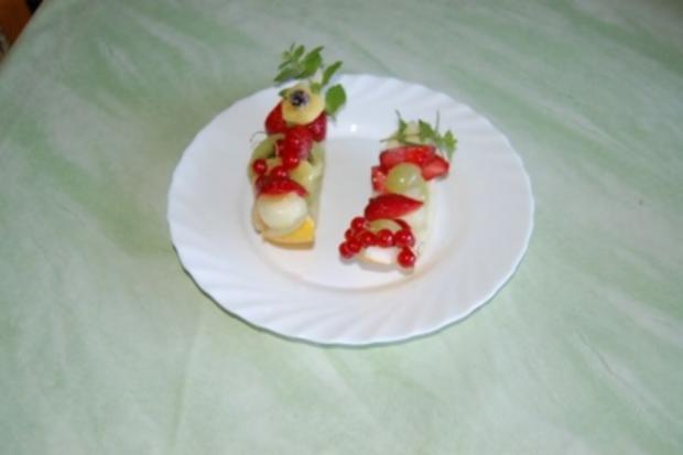gefüllte Melone - Rezept - Bild Nr. 3