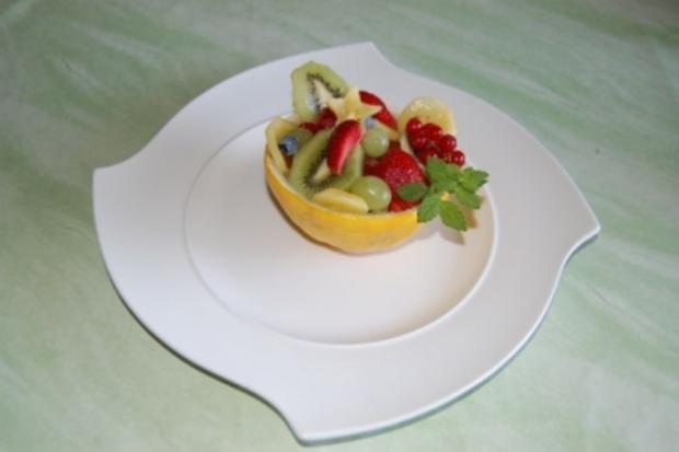 gefüllte Melone - Rezept - Bild Nr. 4