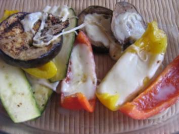 Mediteranes Gemüse vom Grill - Rezept