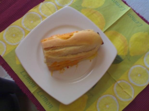 schnelles Schinken-Käse Baguette - Rezept