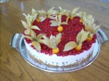 Johannisbeer-Joghurt-Torte - Rezept - Bild Nr. 2
