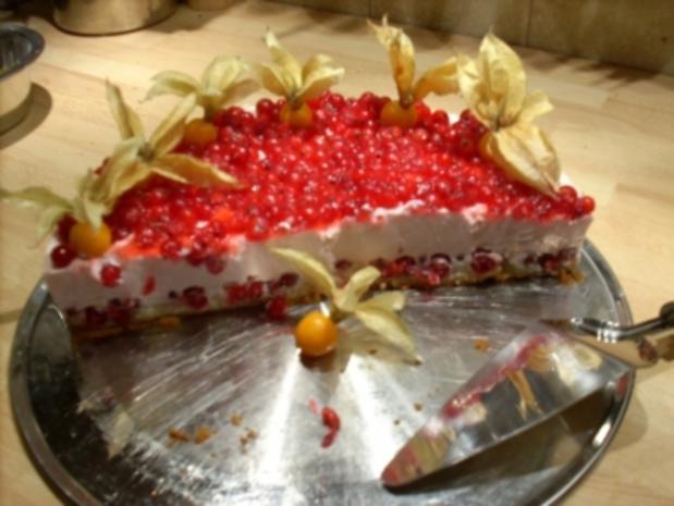 Johannisbeer-Joghurt-Torte - Rezept - Bild Nr. 3