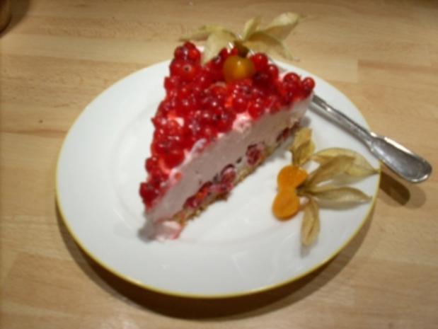 Johannisbeer-Joghurt-Torte - Rezept - Bild Nr. 6
