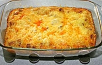 Hackfleisch - Käse - Lasagne - Rezept