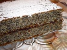 Tassen - Mohnkuchen - Rezept