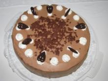 Schokoladen-Birnen-Torte - Rezept