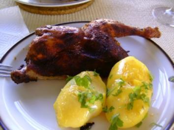 Rezept: Hähnchen im Römertopf