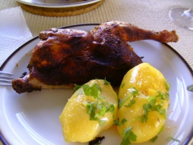 Hähnchen im Römertopf - Rezept