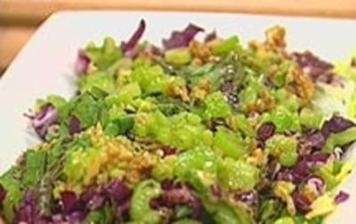 Eskarol- und Radicchio-Salat - Rezept