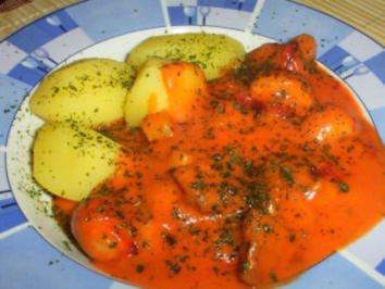 Pikantes Gulasch aus dem Ofen - Rezept
