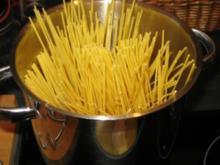 Lachs-Spaghetti in Sahnesoße - Rezept