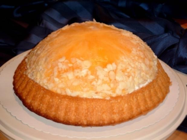Pfirsich-Sahne-Torte - Rezept