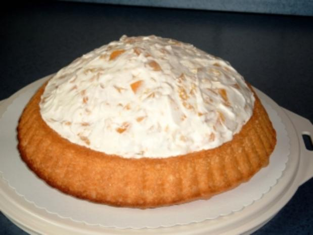 Pfirsich-Sahne-Torte - Rezept - Bild Nr. 2